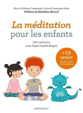 Couverture du livre La méditation pour les enfants