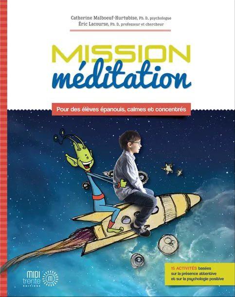 Couverture du livre Mission méditation